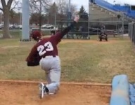 Maine baseball pitcher returns to mound three years after losing finger in saw accident