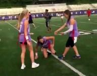 VIDEO: Arkansas flag football game includes incredible stiff arm