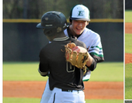 Baseball player in Georgia delays game to comfort opponent whose father died