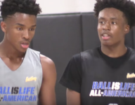VIDEO: Five-star guards Collin Sexton and Jaylen Hands go at it during Ballislife All-American practice