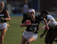 Girls flag football thrives in Florida while tackle football deals with concussion drama