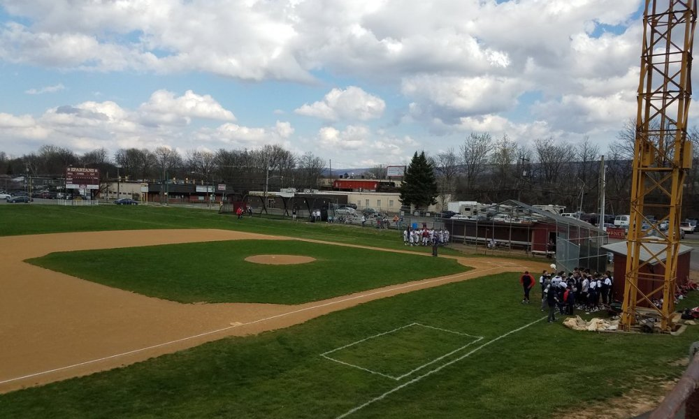 Wyoming Valley West and Pittston Area were involved in a baseball brawl that led to at least one cancelled season finale (Twitter screen shot)