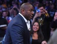 Magic Johnson says LaVar Ball is just a proud parent like Kardashian mom Kris Jenner