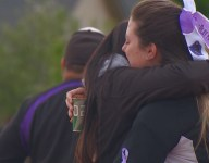 Idaho softball team holds vigil for late teammate days before state tournament