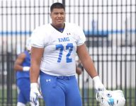 Highly recruited IMG Academy O-lineman Daniel Faalele injured vs. Miami Central