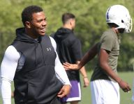 Ray Rice is not officially a part of the New Rochelle coaching staff and won't be