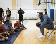 John Wall surprises youth basketball players at Trevor Booker's camp