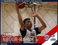 Jabri Abdur-Rahim driven by family name: 'I want to be the best out of everyone'