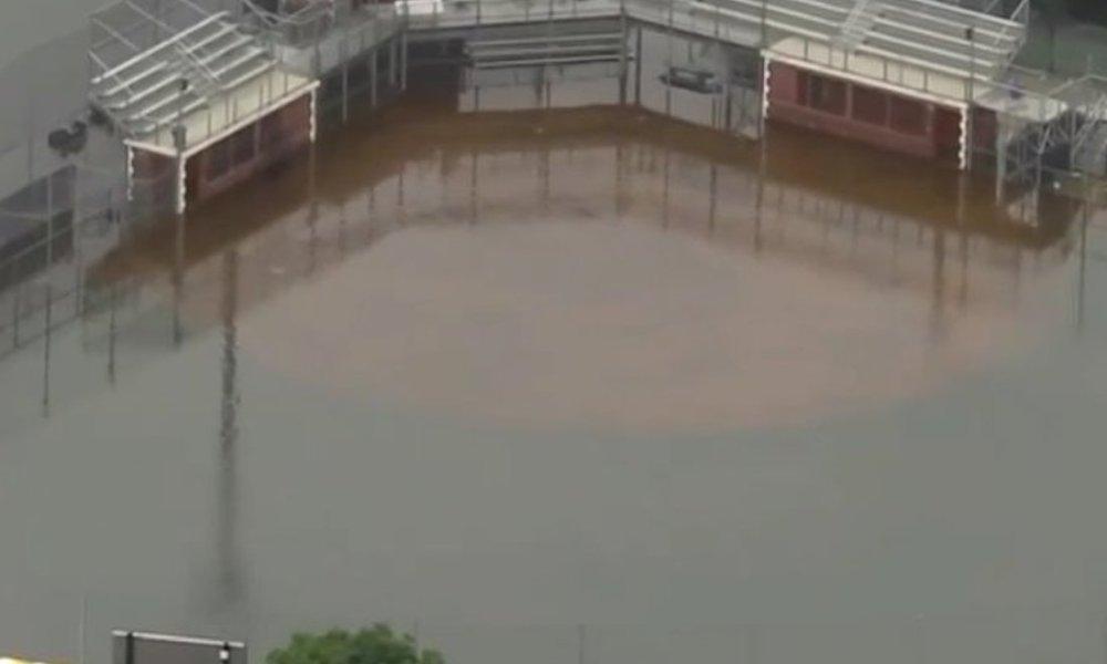American Heritage's baseball field (Photo: Twitter screen shot)