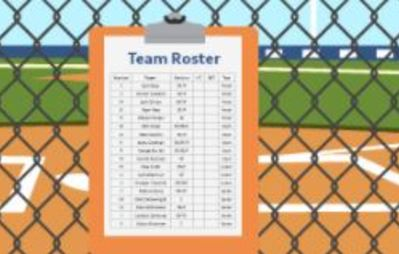 What you can learn from a college team's roster