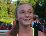 Grace Ping, 13, sets age group world record in 5,000 meters—again
