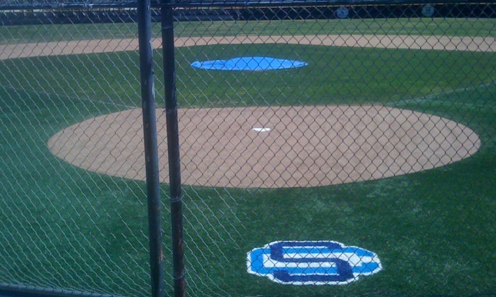 Saugus High School's baseball field (Photo: Facebook screen shot)
