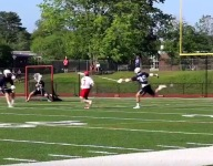 VIDEO: Greenwich (Conn.) scored a literal lacrosse buzzer beater to eliminate Staples from state playoffs