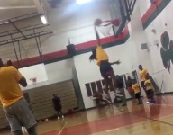 VIDEO: Eighth-grader Ashlyn Watkins is dunking on regulation hoops with authority