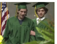 VIDEO: After suffering serious spinal injuries, Mo. water polo player walks at graduation