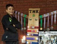 Inspirational Florida 9-year-old with prosthetic leg earns black belt
