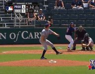 USA Baseball tournament features first ever switch pitcher delivering to switch pitcher