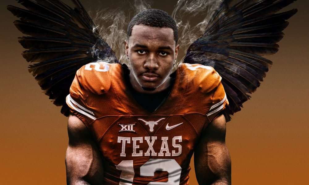 Wide receiver Brennan Eagles committed to Texas (Photo: Twitter screen shot)