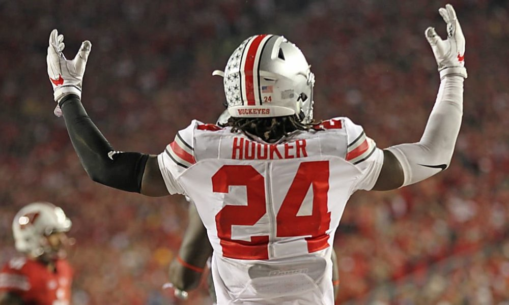 Marcus Hooker, the younger brother of Indianapolis Colts draftee Malik Hooker, received a scholarship offer from Ohio State (Photo: Twitter screen shot)