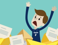 How many times should you email a coach before throwing in the towel?