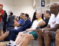 VIDEO: Coach K somehow remains stoic despite monster Zion Williamson block