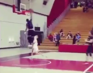 VIDEO: Former Gonzaga College HS star Chris Lykes throws alley-oop to himself