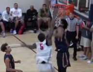 VIDEO: No. 1 hoops prospect Marvin Bagley III was put on a poster on by Emmitt Williams at Peach Jam