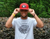 VIDEO: Georgia-bound five-star WR Dominick Blaylock refuses to go down