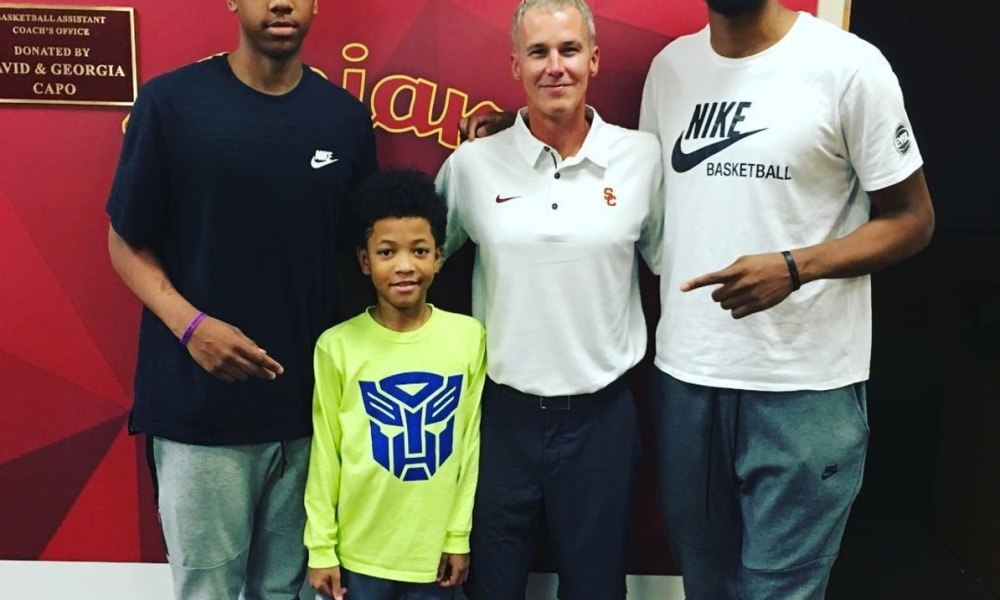 Marcus, Martray and Marvin Bagley III (Photo: Instagram screen shot)