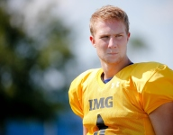 IMG Academy QB Artur Sitkowski, a Miami commit, benched against Miami Central
