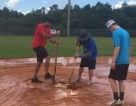 Bubba Watson, staff of minor league baseball team help restore youth field