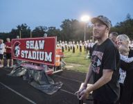 Mich. HS renames stadium after Tim Shaw, a former star who's battling ALS