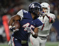 Running back Kirby Bennett is back in Texas at Frisco Lone Star