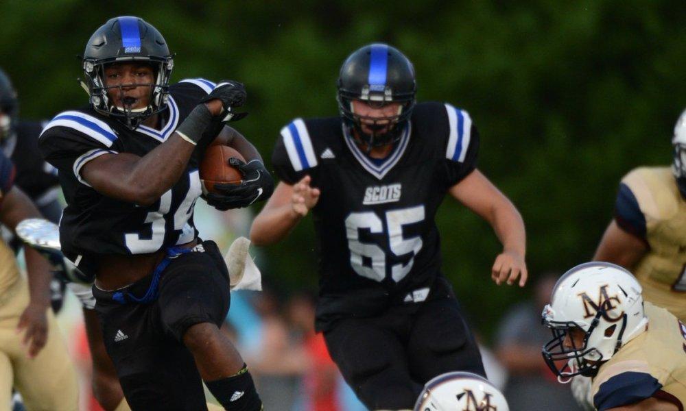 Zamir White scored three touchdowns in a season opening loss to Mallard Creek (Photo: Twitter screen shot)