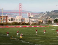 Does San Francisco's Washington High play in front of the best backdrop in high school football