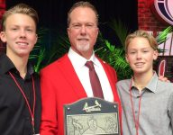 Mark McGwire cites sons' HS baseball schedules as reason for leaving Padres