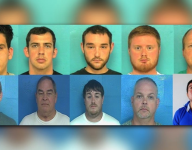 Middle school coach among 11 men arrested in human trafficking sting