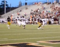 VIDEO: Watch a Coffee County (Ga.) punter be consumed by a Colquitt County (Ga.) rusher, leading to a scoop-and-score