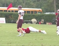 VIDEO: Glynn Academy (Ga.) uses 'The Worm' to draw Benedictine (Ga.) offsides with ridiculous stunt
