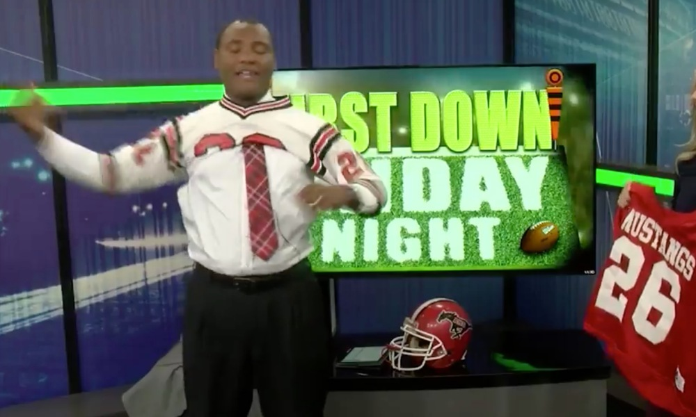 Alabama sports anchor Mo Carter (Photo: Twitter screen shot)
