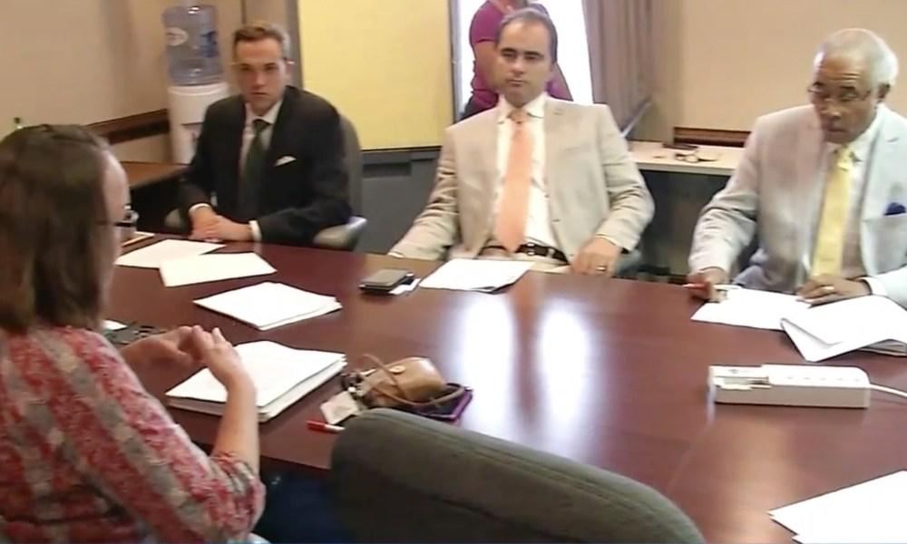 The Dayton School Board (Photo: WKRC screen shot)