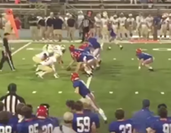 Alabama football player with Down Syndrome scores touchdown, cheers erupt