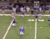 VIDEO: Trevon Jackson, 275-pound Virginia DE, pulls down incredible one-handed interception