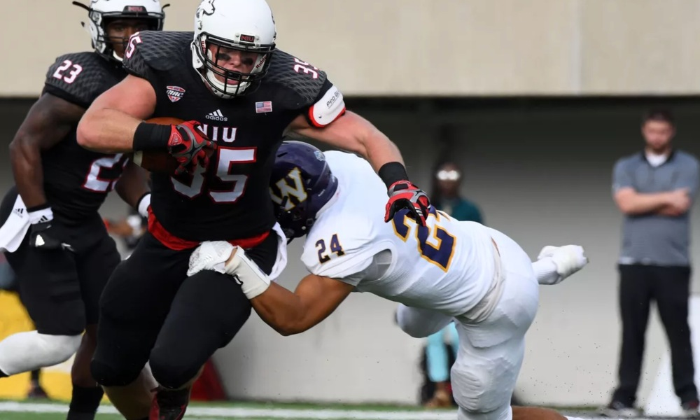 Northern Illinois tight end Shane Wimann (Photo: USA TODAY Sports)