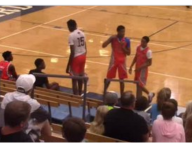 Team featuring Bol Bol forfeits game in second half over officiating
