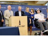 ALS advocate Pete Frates has number retired, baseball field named for him at Mass. alma mater