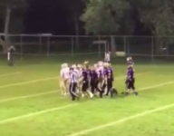 Once-paralyzed S.D. freshman football player relishes emotional touchdown run
