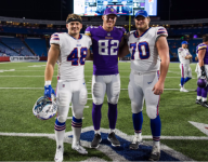 NFL preseason game features three players who attended same grade school