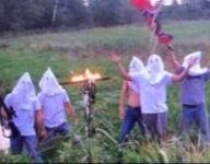 Iowa football coach dismisses five students from team after KKK cross-burning photo