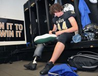 High schooler had similar injury as Zach Miller and now plays with prosthetic leg